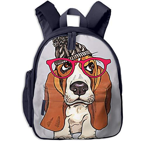 Mochilas Infantiles, Bolsa Mochila Niño Mochila Bebe Guarderia Mochila Escolar con Cachorro...