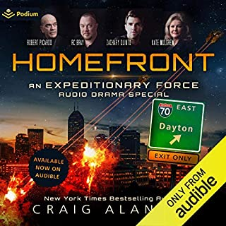 Homefront: An Expeditionary Force Audio Drama Special cover art