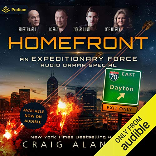 『Homefront: An Expeditionary Force Audio Drama Special』のカバーアート