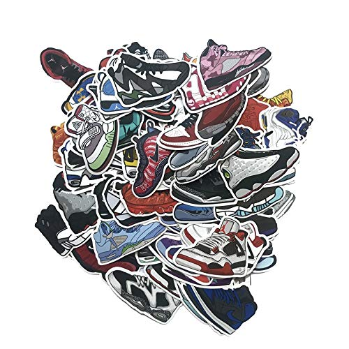 FENGLING Tide Brand Sneakers Stickers Joint Maletas para equipaje Maleta Impermeables Stickers Graffiti Stickers Juguetes Regalos para niños 100 piezas