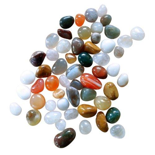BestSaller Jouet Pierres Semi-précieuses véritables - Multicolore - 150 g