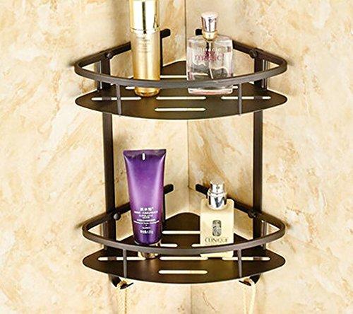 FAFZ Porte-serviette de style européen, accessoires de salle de bains en bronze, serviette antique (couleur : # 15)