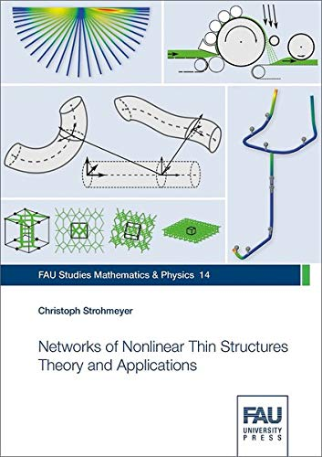 Networks of Nonlinear Thin Structures Theory and Applications (FAU Studies Mathematics & Physics)