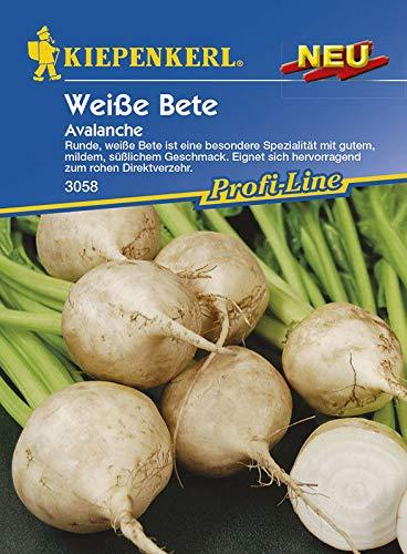 SONIRY Samen-Paket: Kiepenkerl Seed Weiß Beten Avalanche Spezialität für Direktverzehr