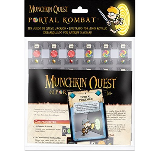 Asmodee - Munchkin Quest, Portal Kombat (Edge Entertainment EDGMQ03)