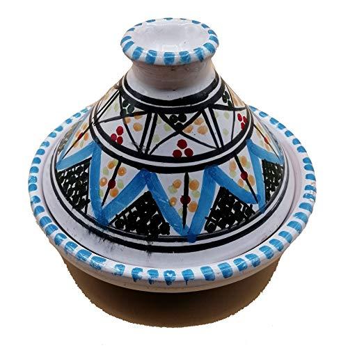 Mini Tajine Ethnico Gewürzständer aus Keramik Marokkanische Tunesin 1211201234