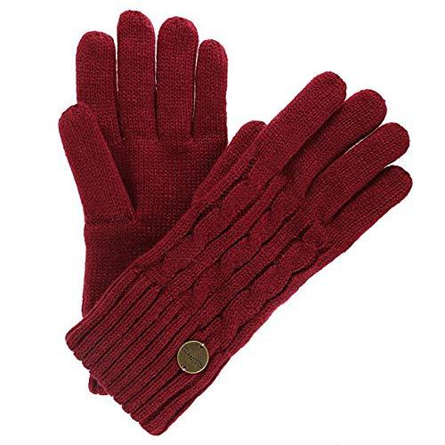 Regatta Womens/Ladies Multimix II Cable Knit Winter Walking Gloves