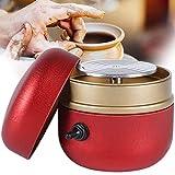 Mini Máquina de Ruedas de alfarería para niños y Adultos, pequeña máquina de cerámica con Bandeja, Herramientas eléctricas de Arcilla DIY, Arte de cerámica para niños con Bandeja,Red