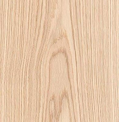 "Edge Supply Red Oak Wood Veneer Sheet Flat Cut, 24"" x 96"", Peel and Stick, ""A"" Grade Veneer Face – Easy Application with 3M Self Adhesive Oak Veneer Sheet – Veneer Sheets for Restoration of Furniture"