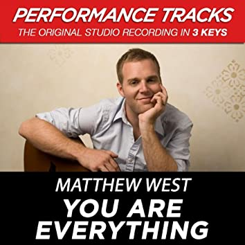 You Are Everything (Performance Tracks) - EP