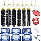 HUANDE Piezas de vacío de repuesto 27 unids ajuste para accesorios piezas de repuesto 600 Series: 690 670 671 680 650 630 614 595 585 kit robot aspirador Accesorios
