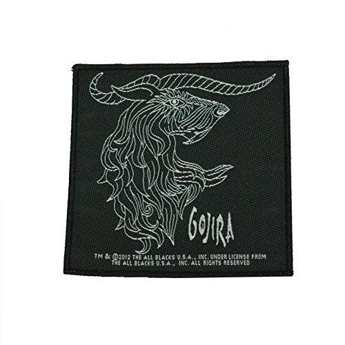 Gojira - Patch Horns (in 100% Cotton) by Gojira