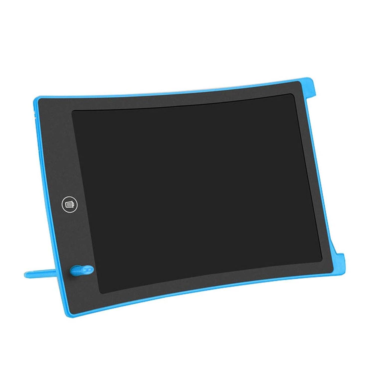悲しむ発送オーロック8.5インチの子供の携帯電子書き込み落書き塗装板、リング保護眼、ワンクリックで削除