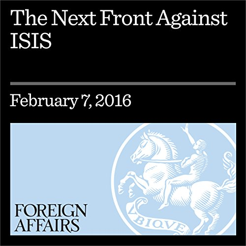 The Next Front Against ISIS audiobook cover art
