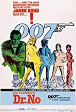 Dr. No - James Bond - 1962 - Movie Poster