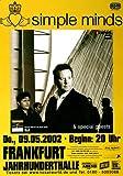 Simple Minds - Spaceface, Frankfurt 2002 »