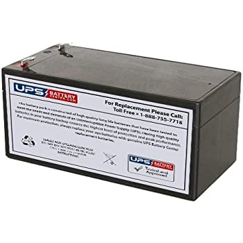 Panasonic LC-R123R4P 12V 3.2Ah Sealed Lead Acid Battery This is an AJC Brand Replacement
