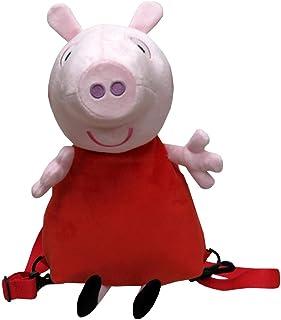 CYP- Mochila Peluche 3D Peppa Pig, Multicolor, 30x18x18 cm (Mc-102-pg)