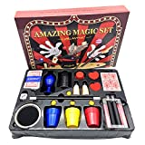 Melantha Magic Kit for Kids Science Toys for Children Magic Set Tricks for Boys, Girls and Adult Easy to Perform Show for Beginners.