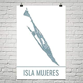 Isla Mujeres Map, Isla Mujeres Art, Isla Mujeres Print, Isla Mujeres Mexico Poster, Cancun, Mexican Gifts, Map of Mexico, Poster, Wedding Poster 24