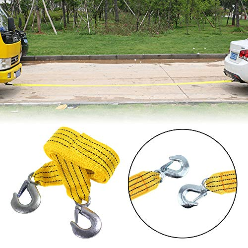 Chendunchishi 3 t 4 m 4 m Traktor-Abschleppseil aus geschmiedetem Eisen mit schwerem Seil für schwere Lastkraftwagen