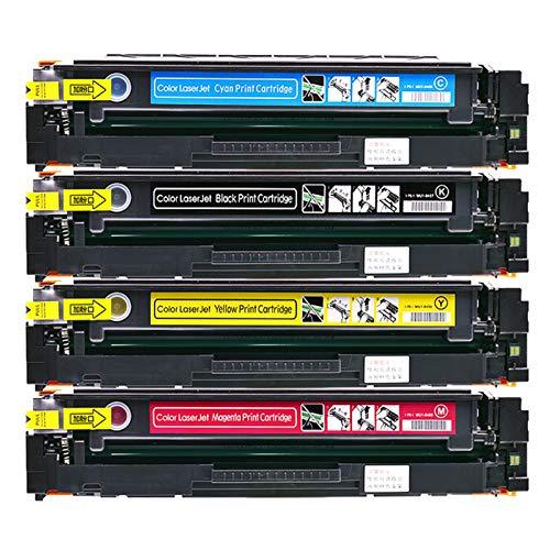 GHN Cartuchos compatibles con tóner Fresco para HP CF510A para HP Color Laserjet Pro M154A / M154NW HP Color Laserjet Pro MFP M180N / M181FW,Azul