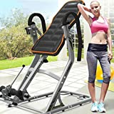 T-Tabla de Inversión Home Fitness Equipment Home Stretcher Estiramiento Cervical Inversor de 180 Grados