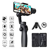 FUNSNAP Handheld Gimbal Camera Stabilizer for iPhone 11Pro/X/XS Android Smartphone Vlog Youtuber Live Video...