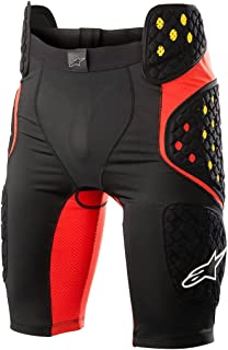 Alpinestars Unisex-Adult Sequence Pro Shorts Black/Red Md (Multi, one_Size)