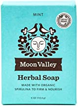 product image for Moon Valley Organics, Soap Bar Mint Organic, 4 Ounce