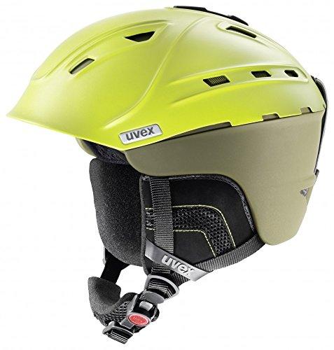 Uvex p2us WL - Skihelm, Size:51-55 cm;Color:mossy green mat