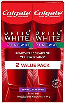 2-Pack Colgate Optic White Renewal Teeth Whitening Toothpaste 3oz
