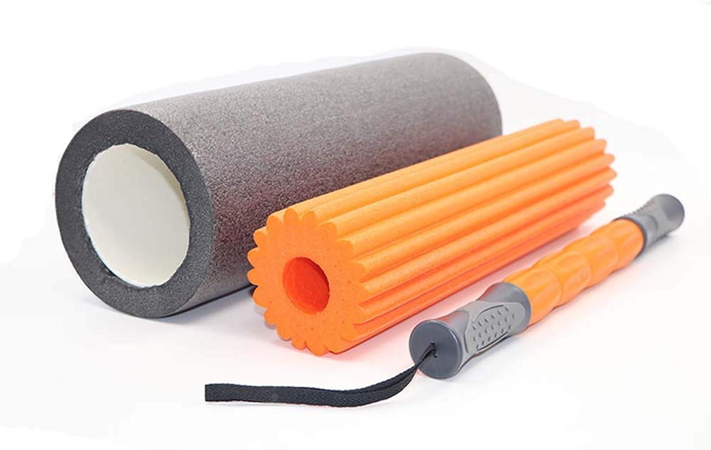 Yoga Column Massage Stick Foam Shaft Combination Yoga Set for Yoga Pilates Fitness Exercise