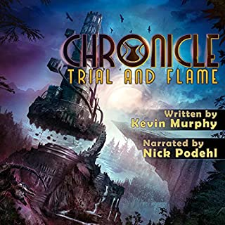 Trial and Flame audiobook cover art