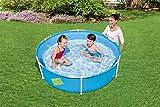 Bestway My First Frame Pool, stabiler und leicht aufbaubarer Kinderpool, 152x152x38 cm - 2