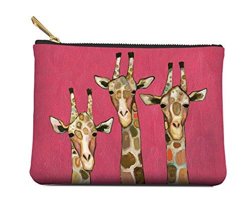 Studio Oh! Zippered Pouch, Medium, Majestic Giraffe, POM02