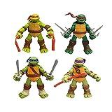 4 STÜCKE 12 cm / 4,7 Teenage Mutant Ninja Turtles TMNT Action Figure Für Kind Spiele Modell Child...