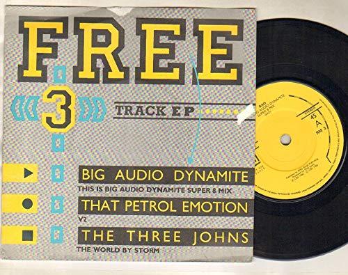 BIG AUDIO DYNMAITE - THIS IS BIG AUDIO DYNAMITE SUPER 8 MIX - 7 inch vinyl / 45