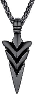 قلادة من الفولاذ المقاوم للصدأ بتصميم روك هوب من مجوهرات روك هيب هوب للرجال من U7 مع قلادة أسنان من الفولاذ المقاوم للصدأ ...
