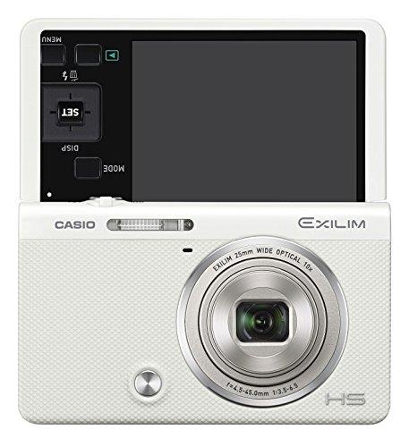 CASIO デジタルカメラ EXILIM EX-ZR70WE 「自分撮りチルト液晶」 「メイクアップ&セルフィーアート」 EXZR7...