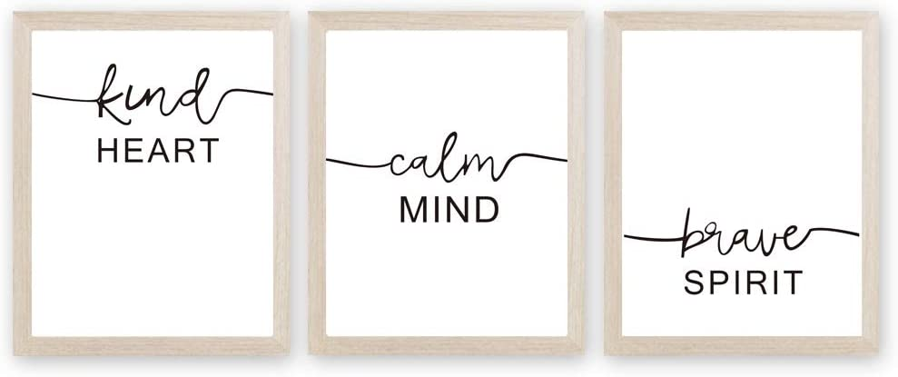 Inspirational Words Art Prints Motivational Quote Canvas Painting
