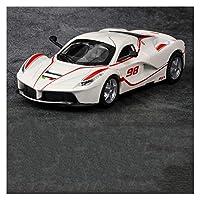 モデルカー 1:32に適用するフェラーリ-ラフェラーリシミュレーションカーモデル合金カーダイキャストおもちゃカーモデルプルバック子供のおもちゃカーコレクティブル ミニカー (色 : 1)