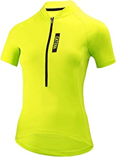 Catena Maillot de Ciclismo Mujer Camiseta Manga Corta Jersey Ropa para Bicicleta Verano MTB Camisa