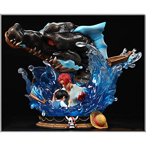 PLL One Piece Action Figur Shanks & Luffy 1/6 Scale Jp Animation Figure Statue(Sea Monster)