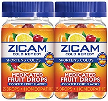 2-Count ZICAM Cold Remedy Medicated Fruit Drops