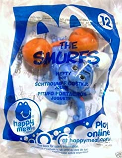 McDonalds - 2011 The Smurfs #12 Hefty Happy Meal Toy