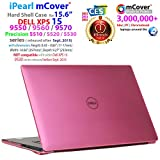 iPearl mCover Hard Shell CASE for 15.6' Dell XPS 15 9550/9560 / 9570 / Precision 5510/5520 / 5530 Series (Released After Sept. 2015) Laptop Computer - Pink
