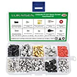 326PCS Personal Computer Screw Assortment Kits, 6-32 Male to M3 Female Standoffs Sets for Hard Drive Fan Power Graphics Motherboard Chassis CD-ROM Computer ATX Case DIY & Repair Computer