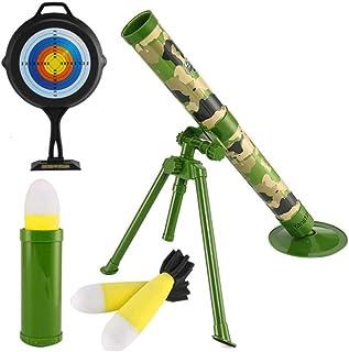 Playmate Pubg Jedi mortar can launch rocket rocket shooting simulation military model Jedi survival toy children toys