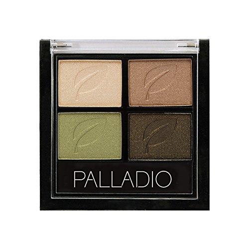 Palladio Eyeshadow Quad, Green To Go